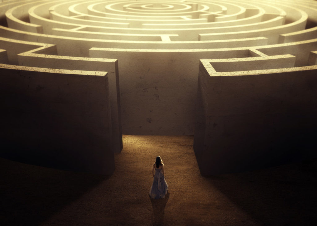 maze and individual counseling